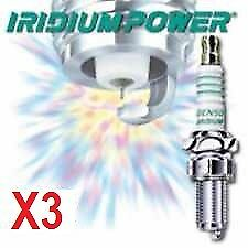 DENSO IRIDIUM POWER spark plugs x 3 for TRIUMPH DAYTONA 675 & STREET TRIPLE 675