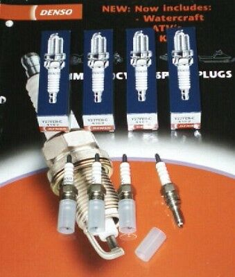 DENSO spark plugs x 4 for HONDA VFR750 VFR800 & RC30