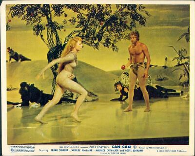 Can-Can Juliet Prowse Shirley Maclaine Lobby Card Uk