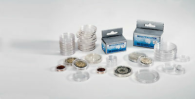Numis Coin Capsules - Box of 10 - Size 26mm