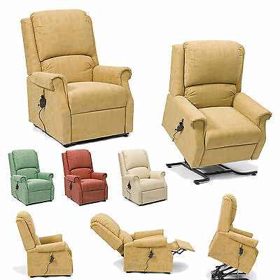 Chicago Rise Riser and Recliner Armchair 4 Colour
