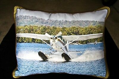 Seaplanes On Silk & Canvas Unique Aircraft On Fabric