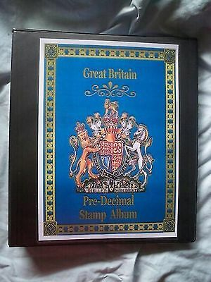 BRAND NEW Stamp Album Great Britain 80 Pages