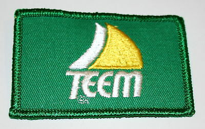 Vintage Teem Soda Distributor Shirt Patch 1980s