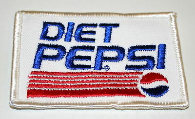 Vintage Diet Pepsi Soda Distributor Shirt Patch 1980s