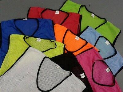 Football Mesh Bibs Training Cycling Mens All Colors
