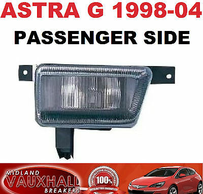 Vauxhall Astra G Mk4 1998-04 Front Fog Light Lamp Foglight Lh New Passenger Side
