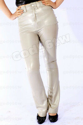100% Latex Rubber Pants/Hose/Kostüm/Catsuit/Zentai/Body