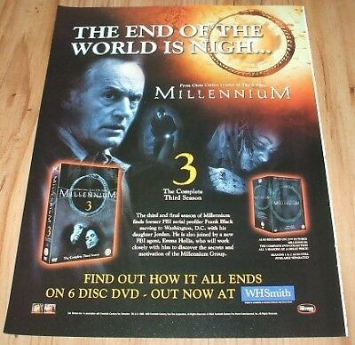 Millennium tv series-2004 magazine advert