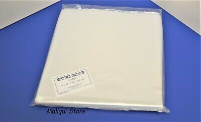 100 CLEAR 8 x 18 POLY BAGS PLASTIC LAY FLAT OPEN TOP PACKING ULINE BEST 1 MIL
