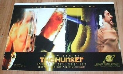 The Hunger tv series-1998 magazine advert