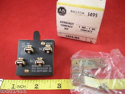 Allen Bradley 1495-N5 Auxiliary Contact Kit Ser A New