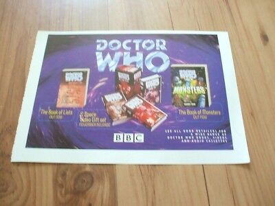 Doctor Who-1997 magazine advert