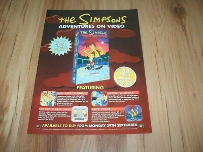The Simpsons-1997 magazine advert