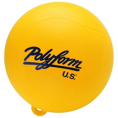polyform  YELLOW 9 inch water ski buoy marker salalom