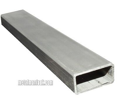 Steel Rec hollow section ERW 60mm x 20mm x 1.5mm x 500mm