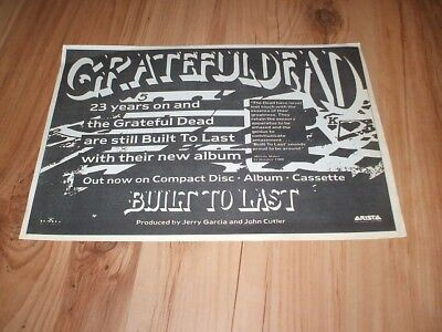 Grateful dead-1989 magazine advert