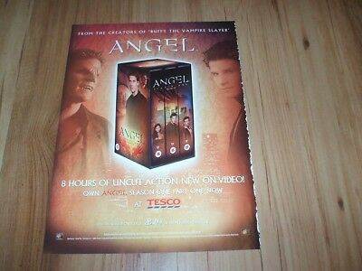 Angel season one-2000 magazine advert
