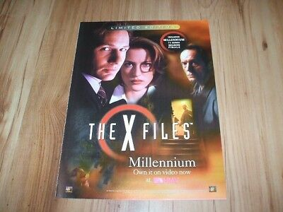 X Files-2000 magazine advert