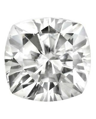 Cushion Cut Forever Classic 9mm Moissanite = 3.30 ct Diamond with Certificate