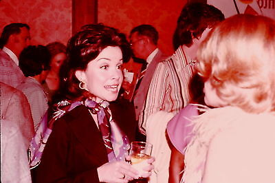 Annette Funicello Candid 1976 Original 35Mm Slide Rare