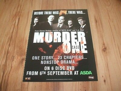 Murder one-2004 magazine advert