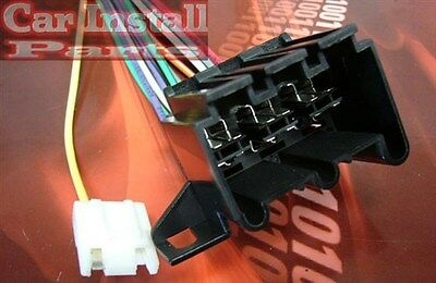 cadillac radio wire harness install stereo plug bull  cadillac radio wire harness install stereo plug 1982 92