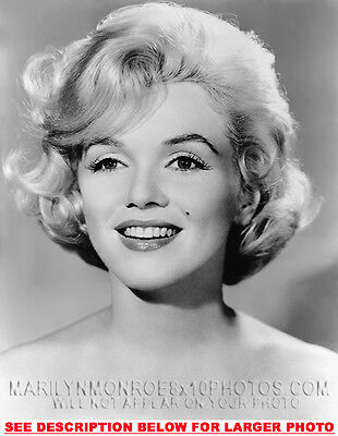 MARILYN MONROE PORTRAIT OF BEAUTY (1) RARE 8x10 PHOTO