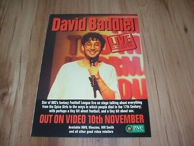 David Baddiel-1998 magazine advert