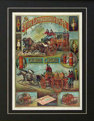 Fireman Firefighter NYFD Fire Extinguisher Ad Chicago