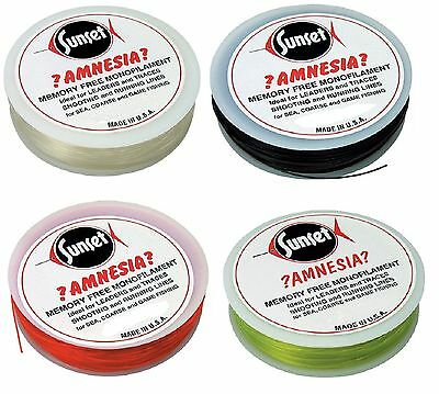 Sunset Amnesia 100m Spools 6lb-40lb All Colours