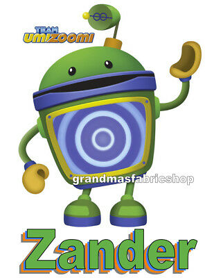 Team Umizoomi Bot Personalized Party Favor Shirt Gift