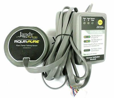 Jandy R0452500 AquaPure Zodiac Salt Flow/Temp/Salinity Sensor Aqua Pure Salinity