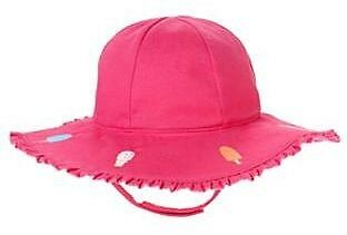 Gymboree Popsicle Party Pink Ice Cream Cone Sun Hat NWT