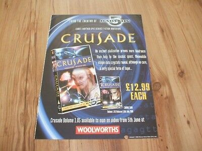 Crusade tv series-2000 magazine advert