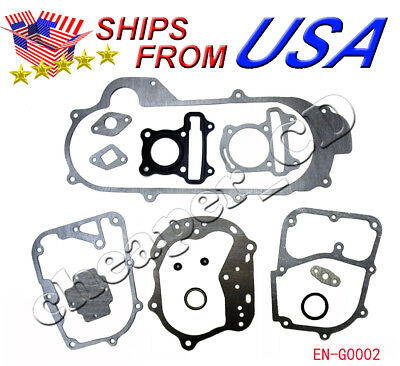 Scooter moped go kart engine head gasket set 49cc 50cc