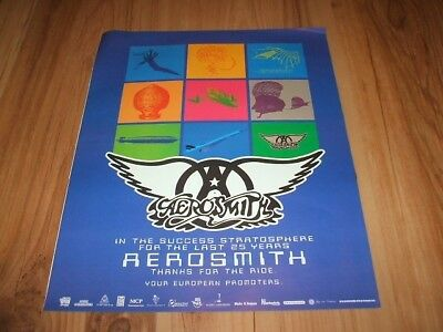 Aerosmith-1998 magazine advert
