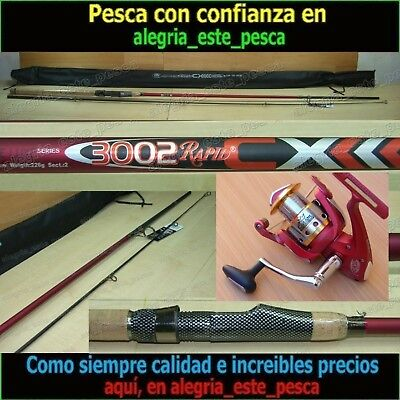 EQUIPO PESCA SPINNING - RAPID CX 3.00mt + DEVIL II 60F