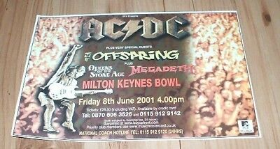 AC/DC-2001 magazine advert