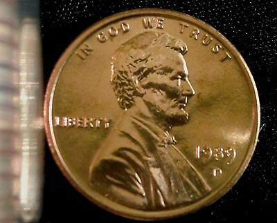 1989-D Denver Mint Lincoln Memorial Cent