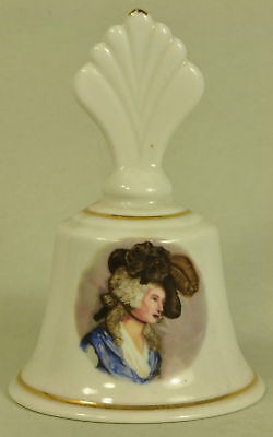 "Lysander bone china bell with ""Renaissance Figure"""