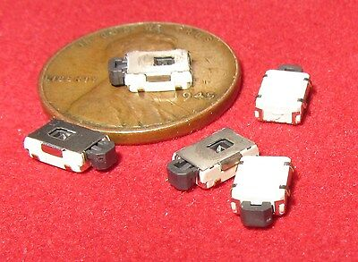5 x TINY SPDT Tactile Switch Momentary Button Click On