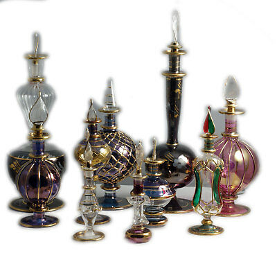 [9 bottles] Egyptian Perfume Bottle 4L 3M 2S PB905
