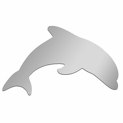DOLPHIN  Wall Mounted Acrylic Mirror  -  12 inch