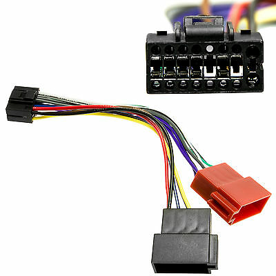 Auto Radio Adapter Kabel DIN ISO Plug&Play  für Kenwood Kabel Stecker KDC