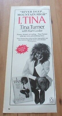 Tina Turner-magazine advert