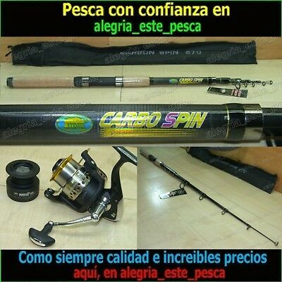 EQUIPO PESCA SPINNING - CARBO SPIN 2.70mt + MATCH FD40