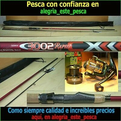 EQUIPO PESCA SPINNING  RAPID CX 3.00m + RAPID SEAL FD60