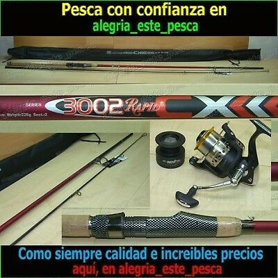 EQUIPO PESCA SPINNING RAPID CX 3.00mts + MATCH FD 40