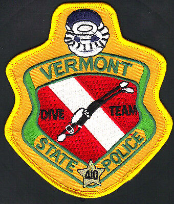 Vermont State Police  ** Dive Team